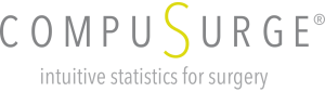 Compusurge™ - intuitive statistics for surgery