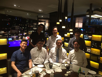 Dinner with colorectal surgeons