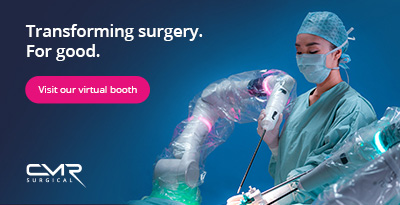 Transforming surgery for good - visit our virtual booth - CMR Surgical