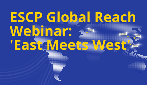 ESCP Global Reach Webinar East Meets West graphic