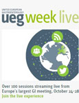 UEG Week Live graphic