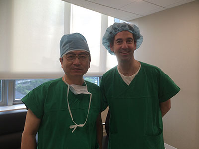 Edgar Furnee with Prof Kim Nam Kyu