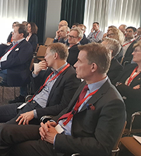 Stockholm Colon Cancer Masterclass audience