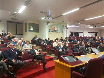 Rome Masterclass - view of audience